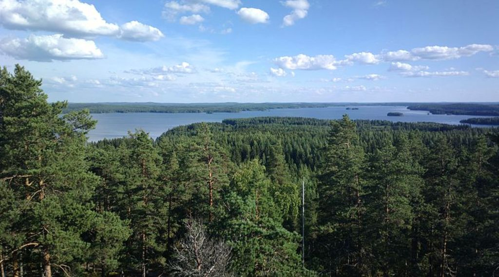 Kangasala has been famous for its beutiful scenery for decades.