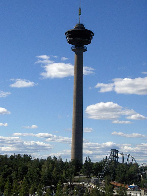 Näsinneula observation tower in Tampere