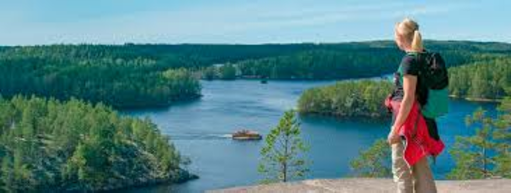 Our clean lake Saimaa. Beautiful area for hiking, swimming, canouing...