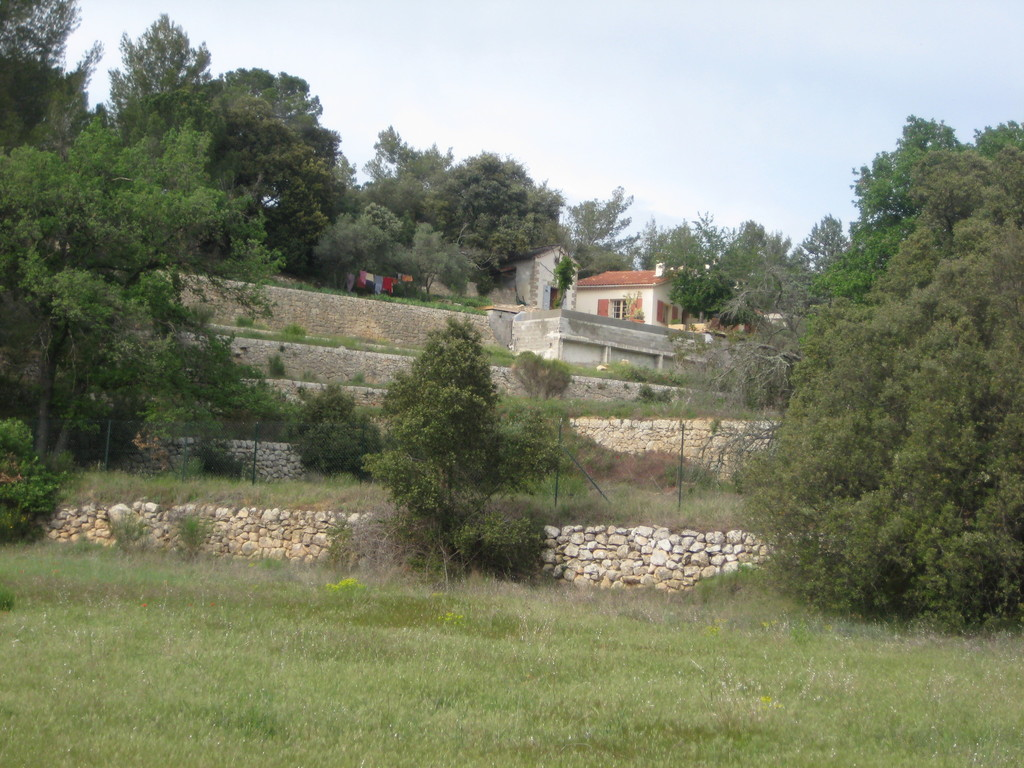 house from the olive grove