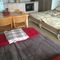 flat with two single beds and 2 sleepingsofas