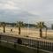 Desde la terraza vista del paseo y la playa