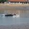 Bahía de Txingudi en Hendaya Francia