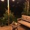 Side Way terrace by night