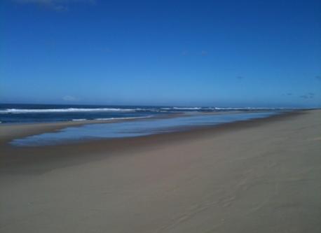 endless beach..