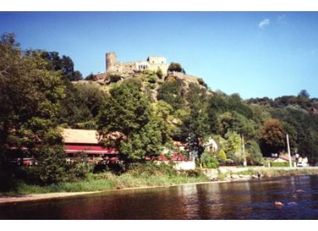 La Sioule et le Chateau de Chouvigny