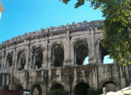 Les Arènes de Nîmes Arenas.