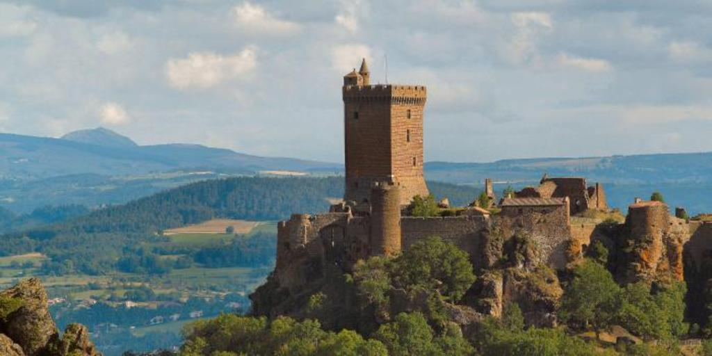castle of Polignac (10 min from home)