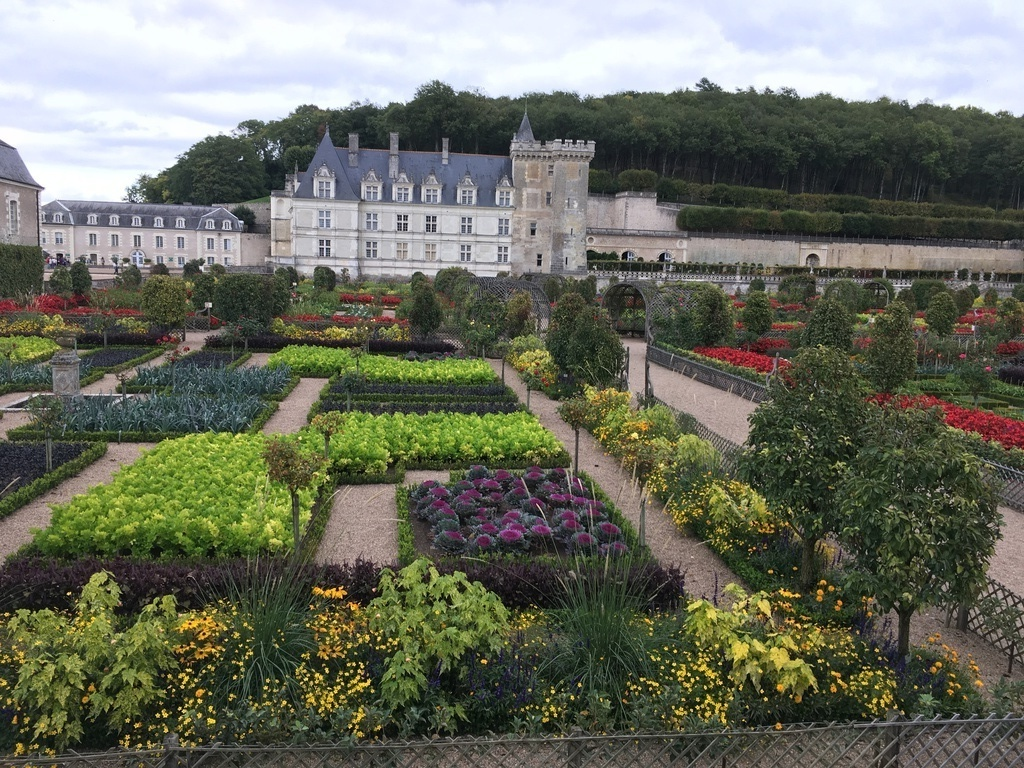 Castel of VILLANDRY and gardens