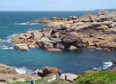Granit Rose coast