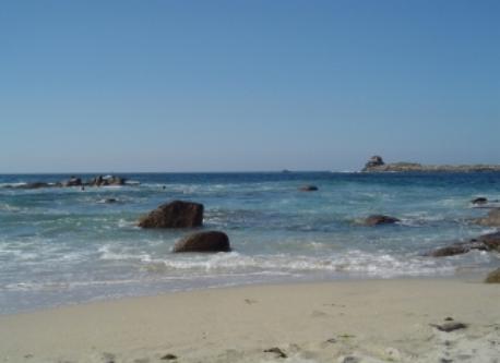 Ile-Grande, beach