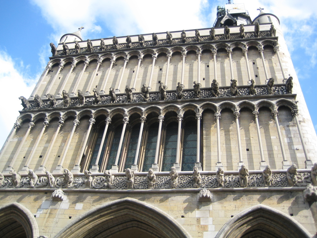 The cathedral of Dijon