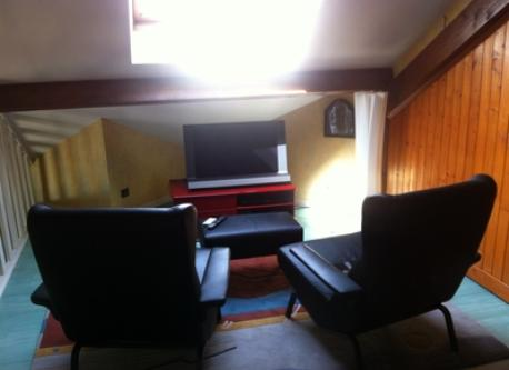 Television room upstairs