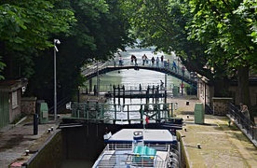 Saint Martin's Channel in Paris