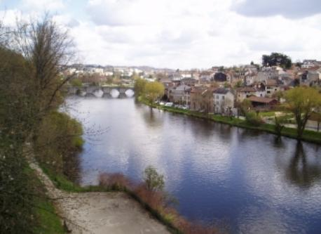 La Vienne, the Limoges river