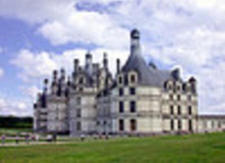 the castle of Chambord 45 min