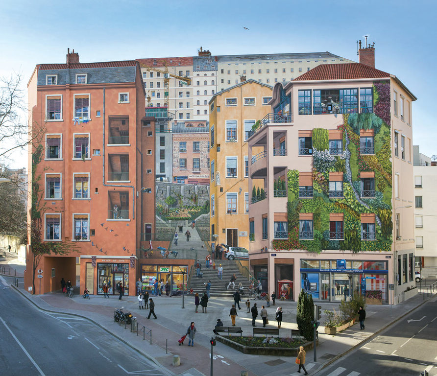 Painted Walls City of Lyon