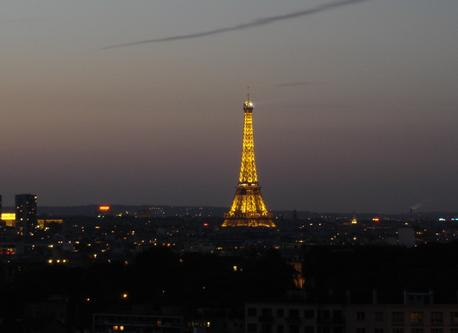 A breathtaking view on the Eiffel Tower