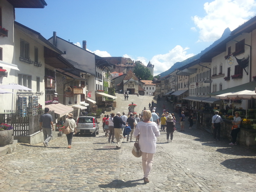 Gruyères, in Switzerland