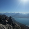 Annecy's lake. View from Mont Veyrier