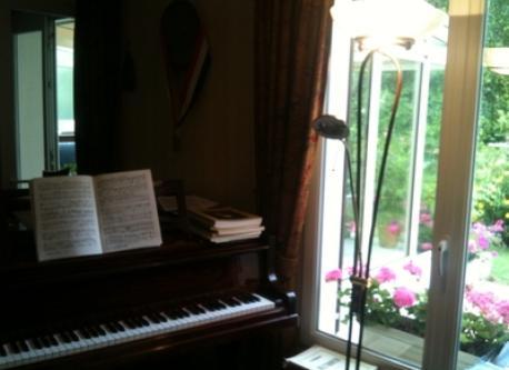 vue clavier piano