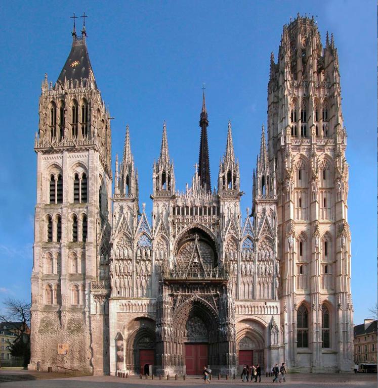 La cathédrale de Rouen (gothique)