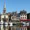 Honfleur : son port et son église Sainte-Catherine (photo Jen & Dirk)