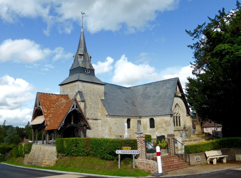 Eglise Saint-Ouen de Rocques (XII°/XVI°s - romane & gothique)