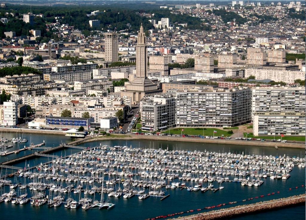 Le Havre (architecture Auguste Perret > Patrimoine de l'Humanité - UNESCO)