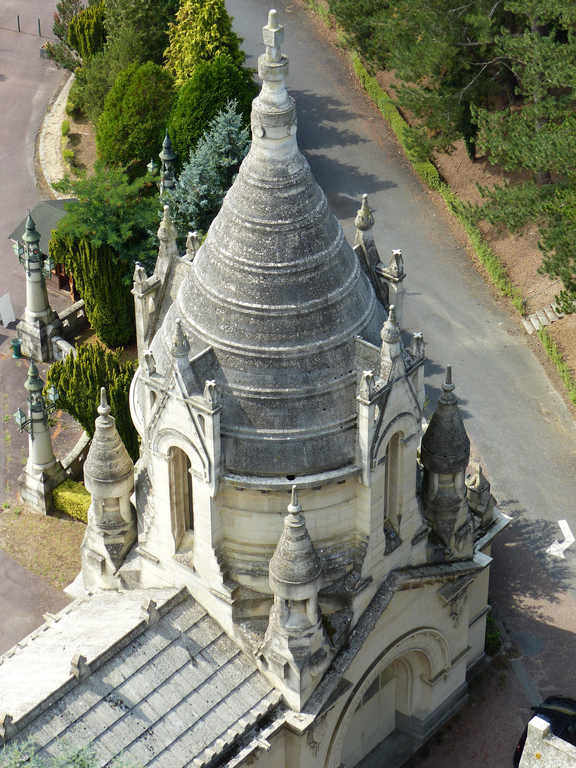 Lisieux : extérieur du haut de la Basilique (photo Jen & Dirk)