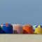 Parasols de la plage de Trouville (photo Jen & Dirk)