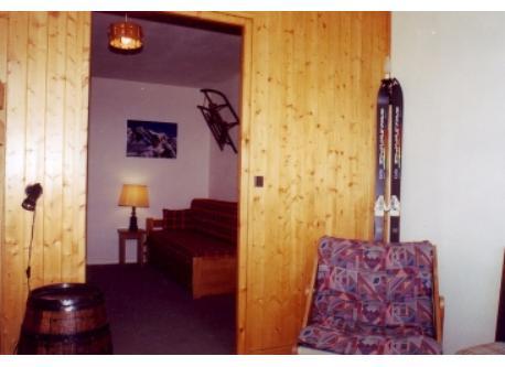 chambre montagne et mezzanine derrière