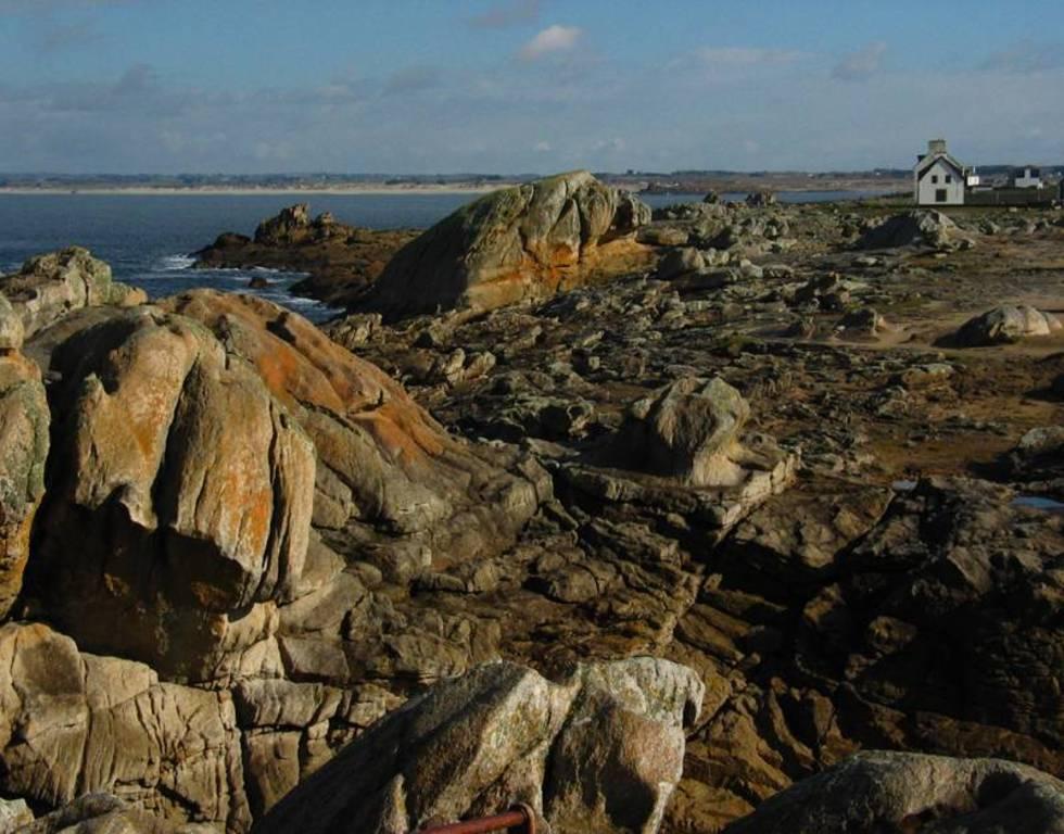 Les rochers de Saint Guénolé