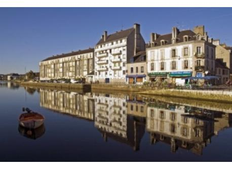 The river in Quimper