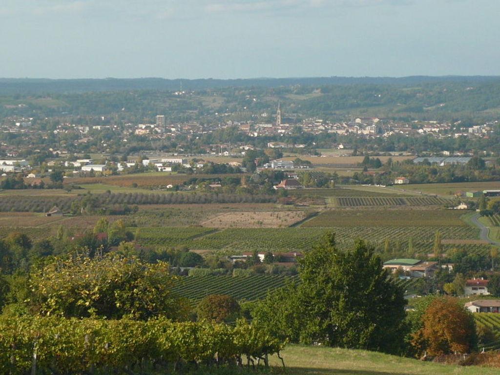 view of Bergerac