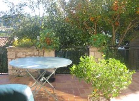 notre très agréable terrasse plein sud !