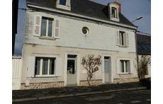 Façade de la maison côté Loire
