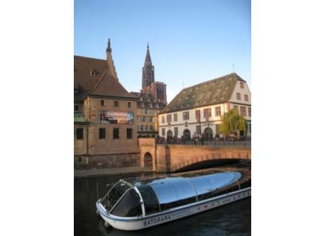 Visit Strasbourg with boat