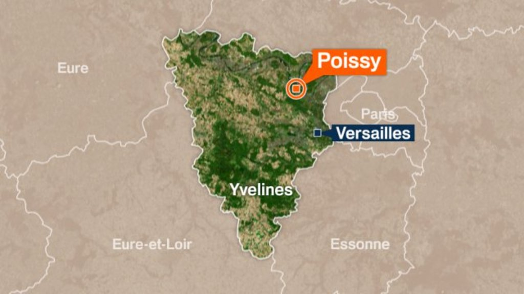 The Yvelines, Poissy, Versailles, west of Paris