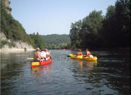Canoë Kayak sur la rivière Dordogne
