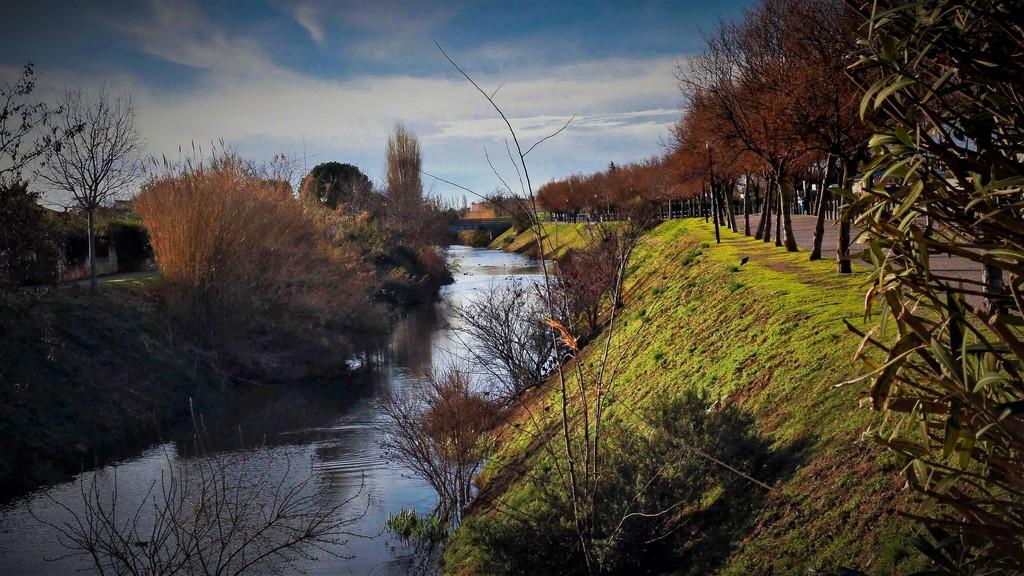 Le canal de Lunel, à 200 mètres de la maison