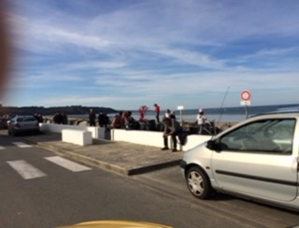 The Rosaires beach at 5 minutes by car from Saint-Brieuc