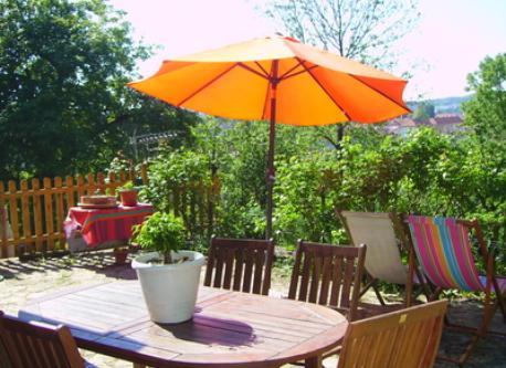 the terrace - la terrasse en bois