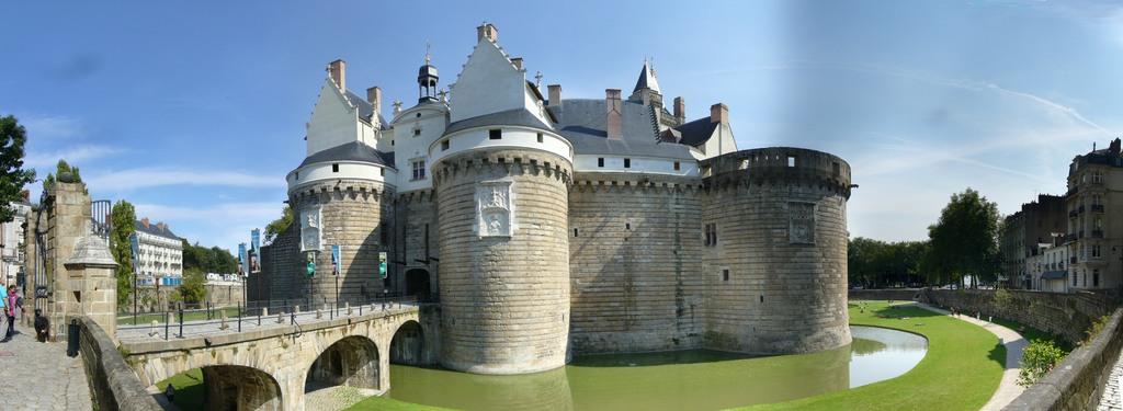 Nantes, le chateau