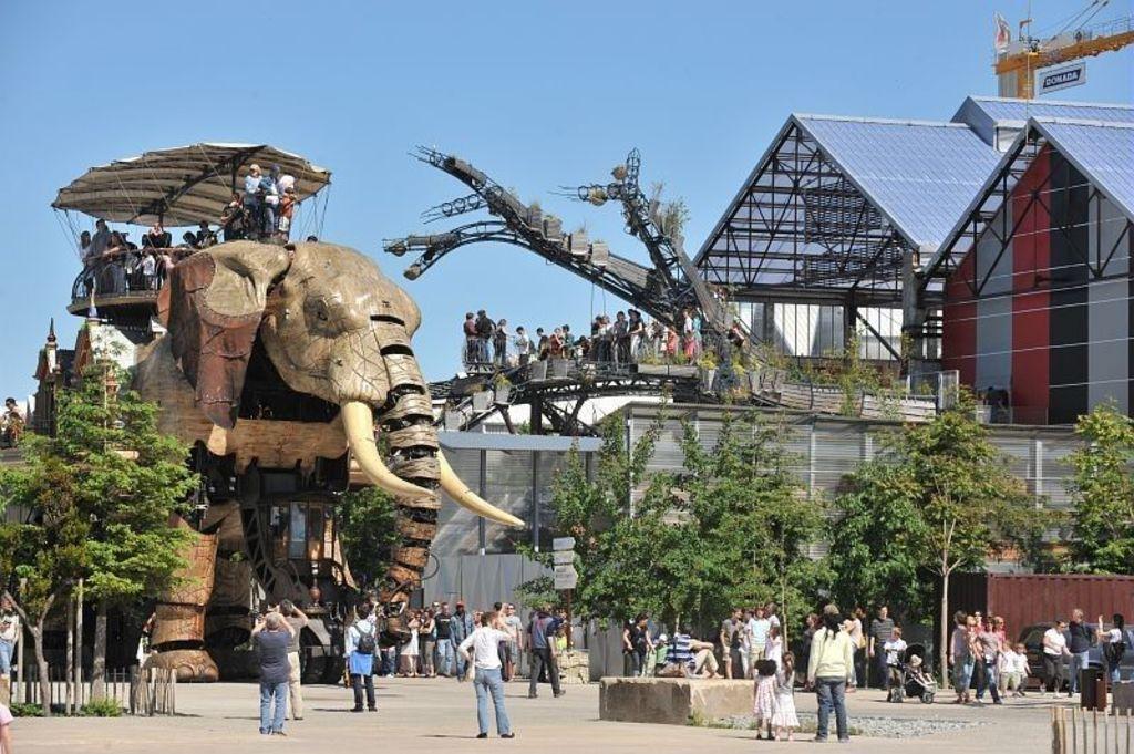 Nantes, les machines de l'ile