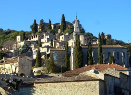 little provencal village