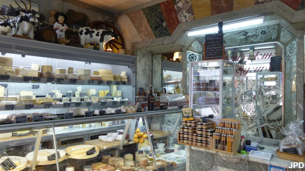 Ferme Saint Hubert - Fromagerie down the street (when we said they were serious about cheese, we weren't kidding ;)