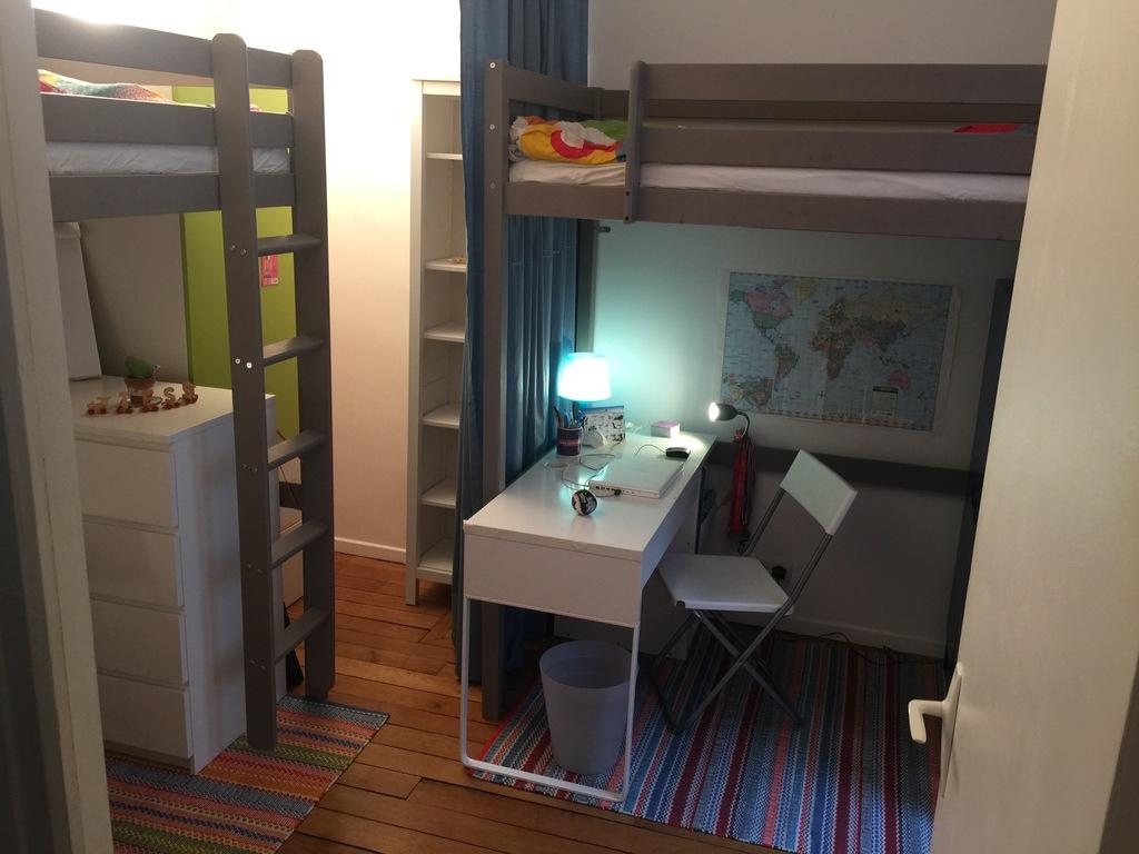 Bedroom 2 (adult-sized mezzanine beds)