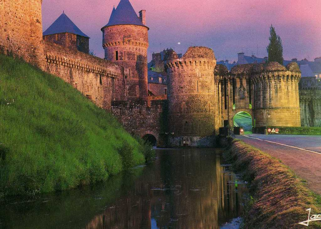 Château de Fougères, one of the hundreds of castles of Brittany