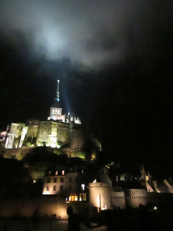 Mont-Saint Michel Visits at night during Summer